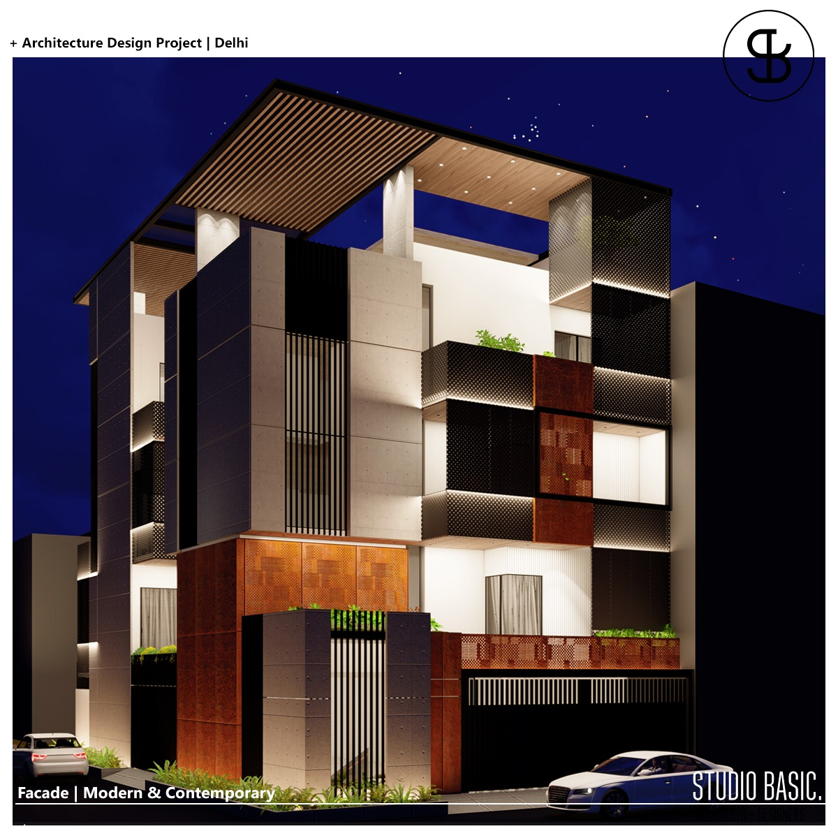 Residential Elevation Design-STUDIO BASIC AD LLP
