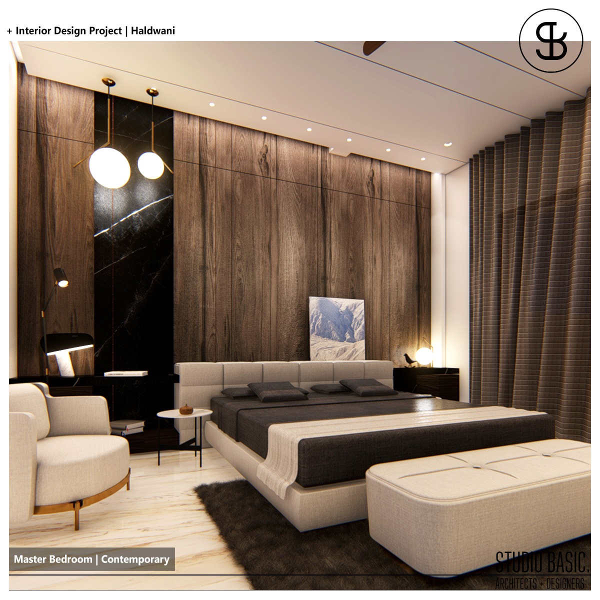 Master Bedroom Design-	STUDIO BASIC AD LLP