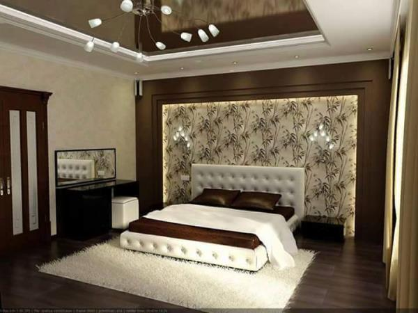 Latest kitchen bedroom living room design ideas photos for Bed dizain image