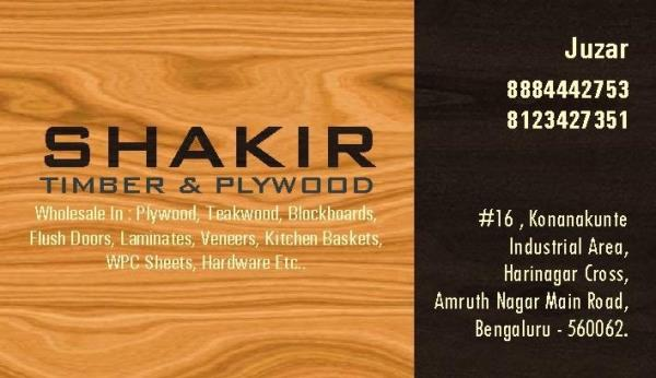 Shakir Timber and Plywood